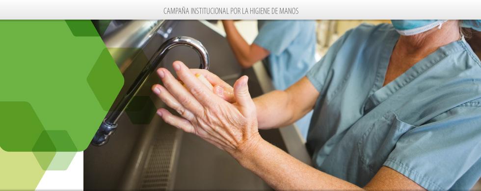 Campaña Institucional por la Higiene de Manos