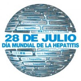 28 de julio. Día mundial contra la hepatitis.