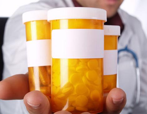 Beneficio de la medicación para disminuir el colesterol.