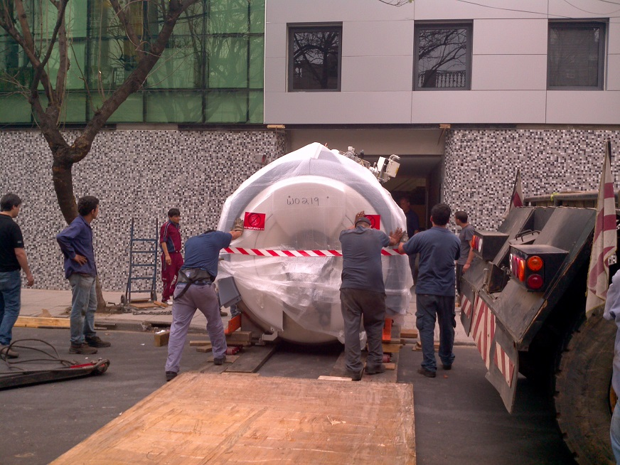 Llegó a Rosario el primer equipo de Resonancia Magnética 3 Tesla