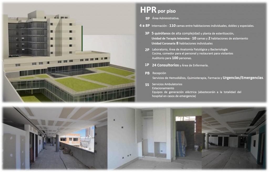 Infografía Hospital Privado Rosario - Grupo Gamma