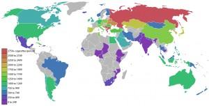 Mapa de consumo