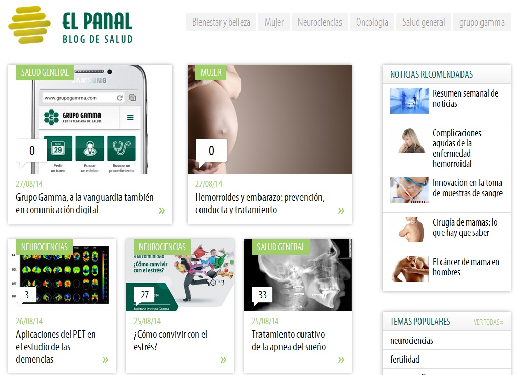 Blog de salud el panal
