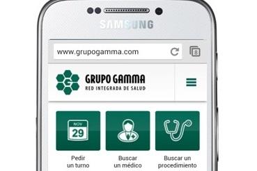 Sitio Movil Grupo Gamma