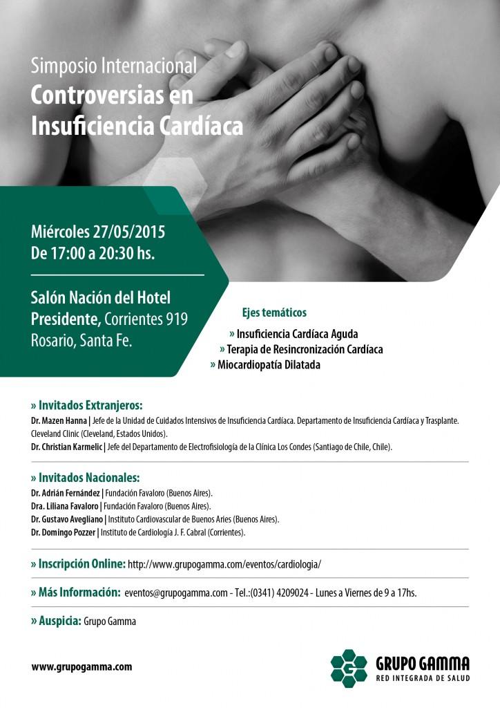 Simposio Internacional: Controversias en Insuficiencia Cardíaca