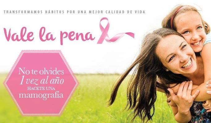 Charla: Alternativas para la Prevención y Detección Precoz del Cáncer de Mama