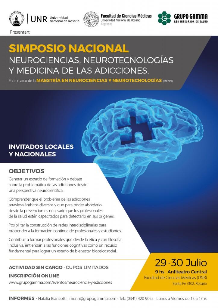 Simposio Nacional de Neurociencias, Neurotecnologías y Medicina de las Adicciones