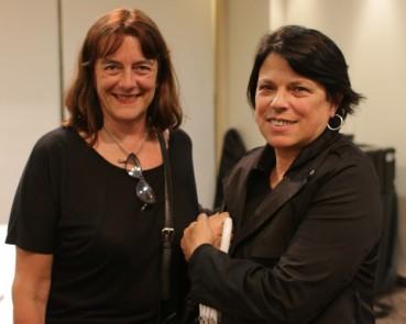 Adriana Delgrosso y Elena Soler se acercaron por experiencias propias y de familiares.