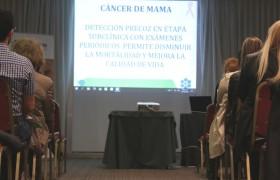 Charla de Cáncer de Mama: una oportunidad para disipar dudas