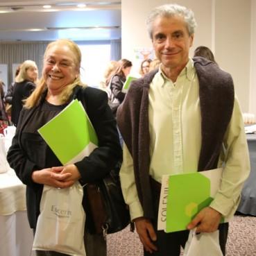 Leonor Yañez y Daniel Tineo