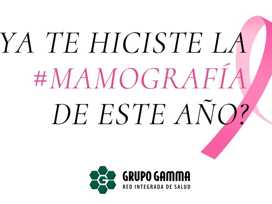 Mamografía: Detección precoz del Cáncer de Mama