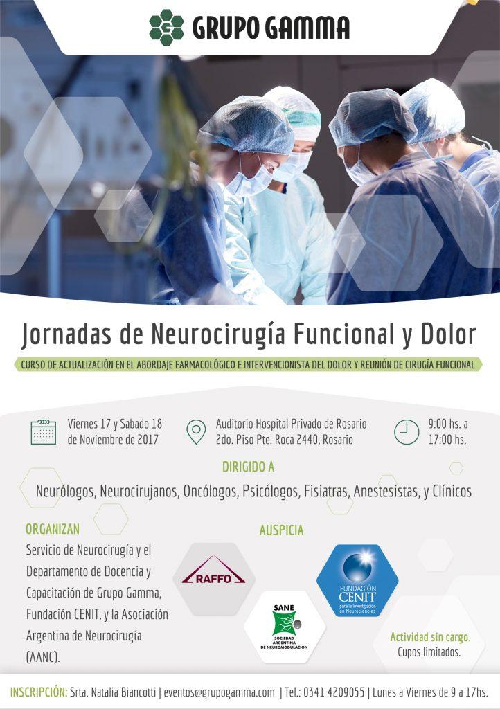 Jornadas de Neurocirugía Funcional y Dolor