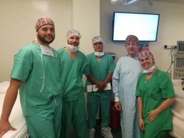 Primer Cirugía en Rosario de colocación de balón en Trompa de Eustaquio