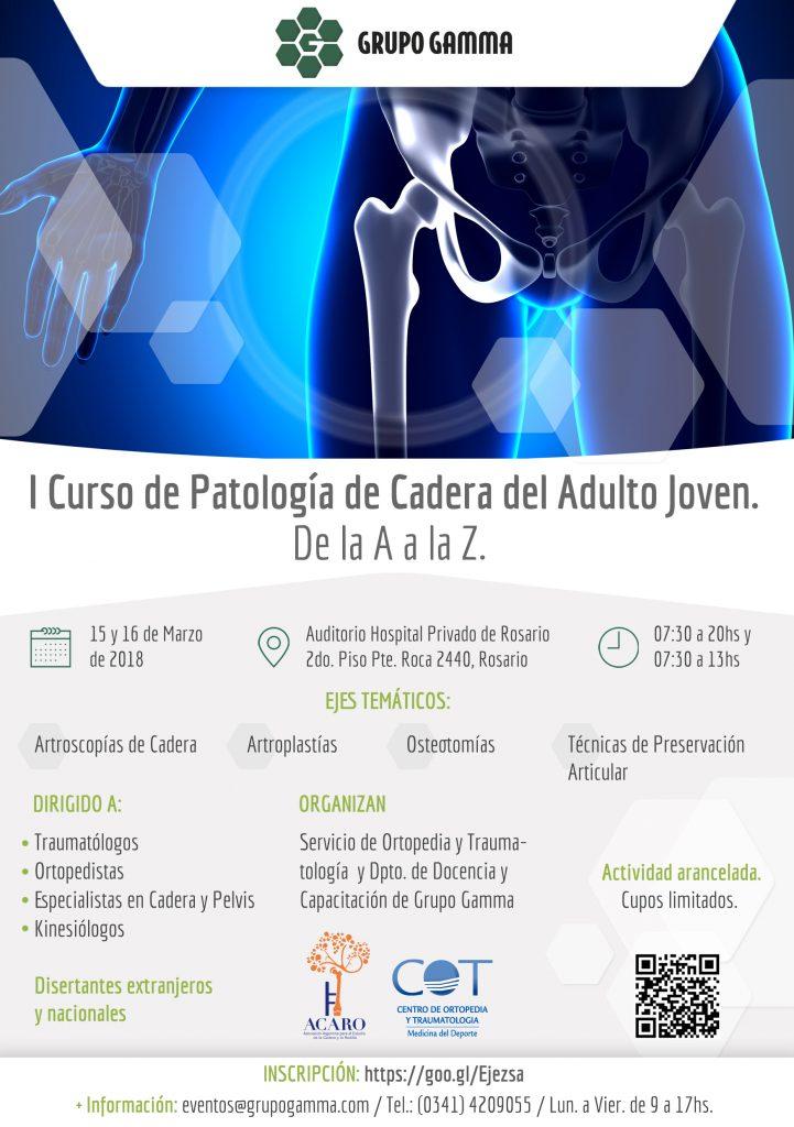 I Curso de Patología de Cadera | Grupo Gamma