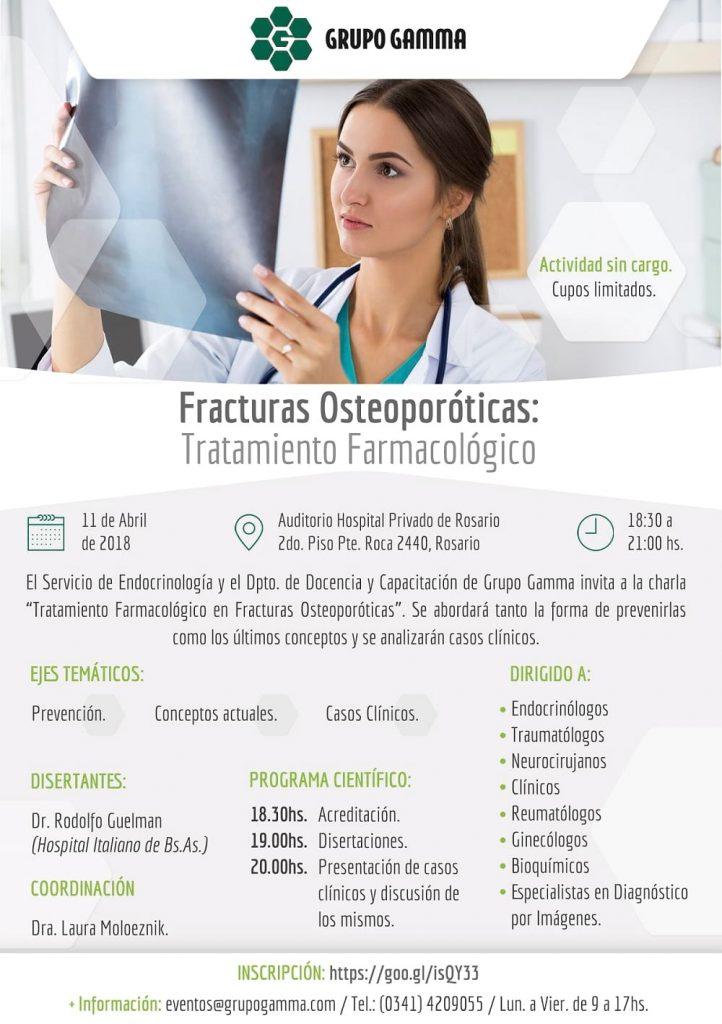 Evento médico - Fracturas osteoporóticas - Grupo Gamma