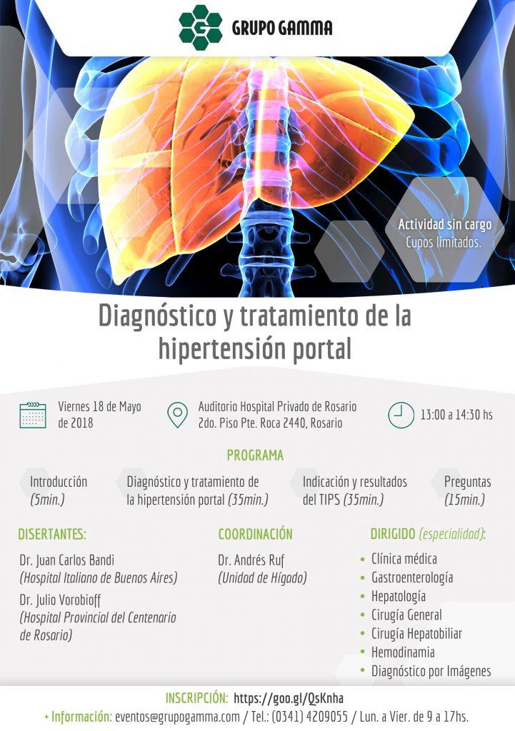 Evento médico - Hipertensión portal - Grupo Gamma