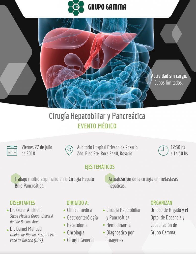 Cirugía Hepatobiliar y Pancreática - Grupo Gamma