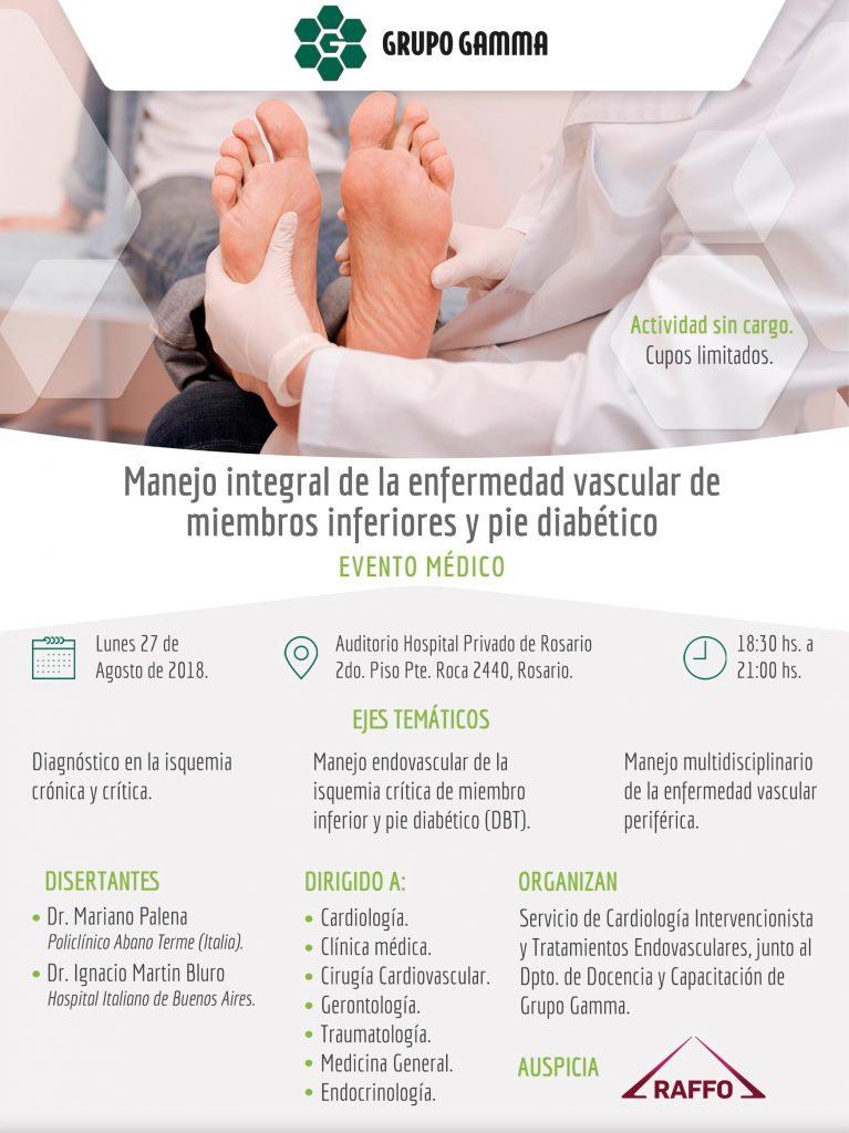 Enfermedad vascular periférica - Grupo Gamma