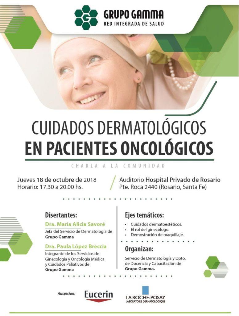 Cuidados dermatológicos en pacientes oncológicos - efecto cutaneomocosa - Grupo Gamma