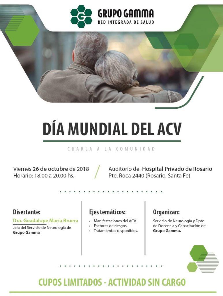 Día mundial del ACV - Grupo Gamma
