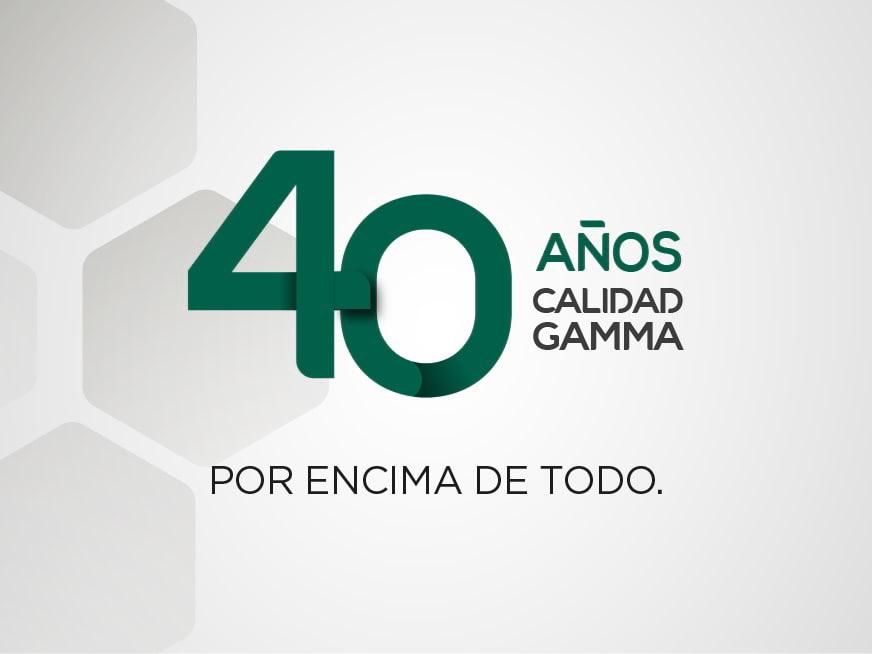 40 años de Calidad Gamma