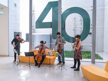 Circuito musical en Grupo Gamma - 40 años