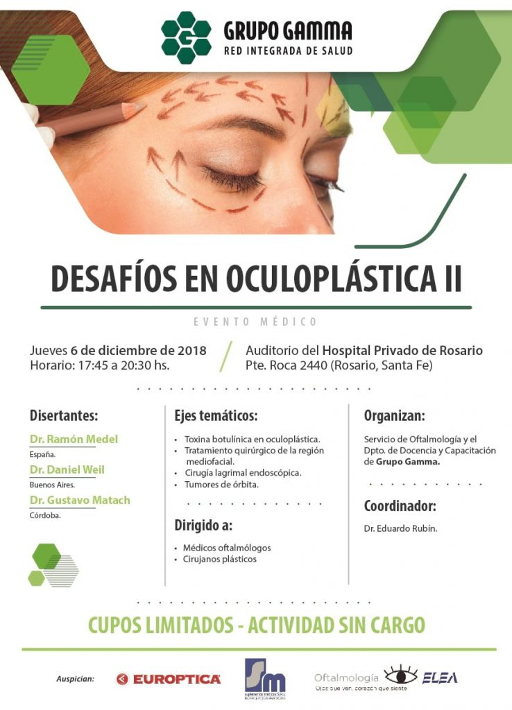 Desafíos en Oculoplástica II - Grupo Gamma