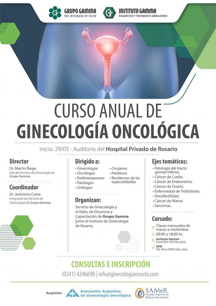 Curso Anual de Ginecología Oncológica - Grupo Gamma