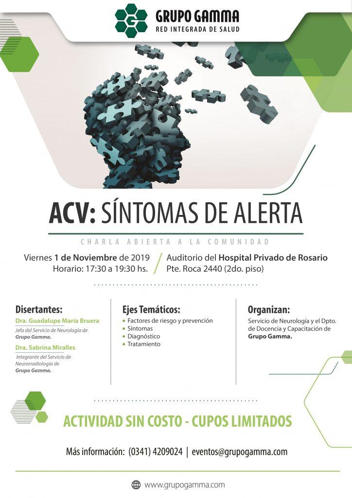 ACV Síntomas de Alerta - Grupo Gamma