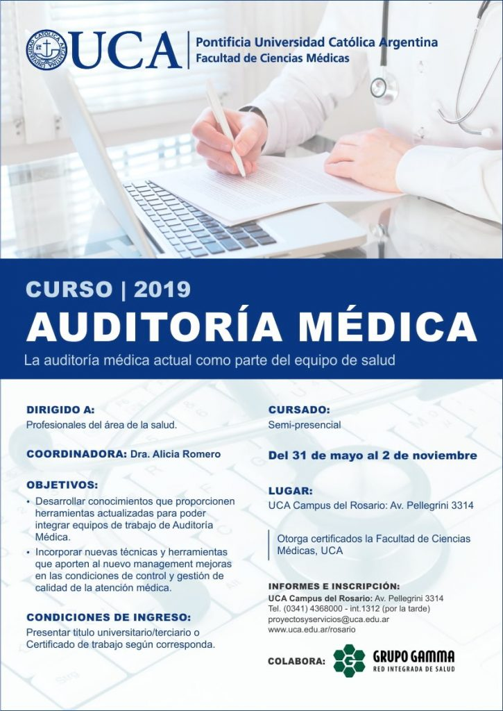 Curso Auditoría Médica - Grupo Gamma