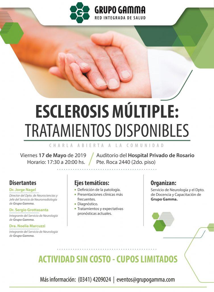 Esclerosis Múltiple, tratamientos disponibles - Grupo Gamma
