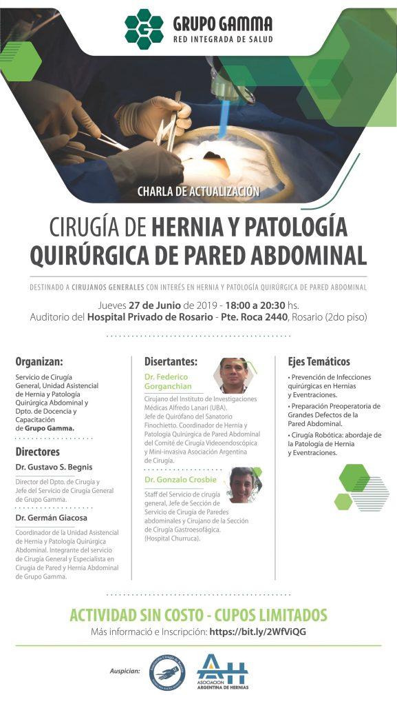 Cirugía de Hernia y Patología Quirúrgica de Pared Abdominal | Grupo Gamma