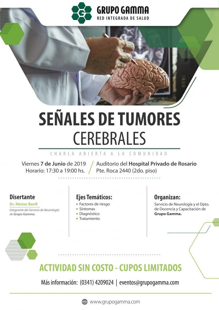 Señales de tumores cerebrales - Grupo Gamma WEB