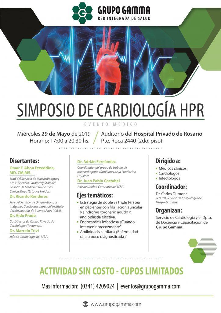 Simposio de Cardiología HPR - Grupo Gamma