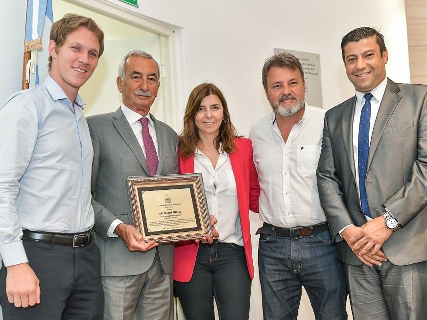 El Dr. Mario Tourn declarado ciudadano distinguido por el Concejo Municipal de Rosario