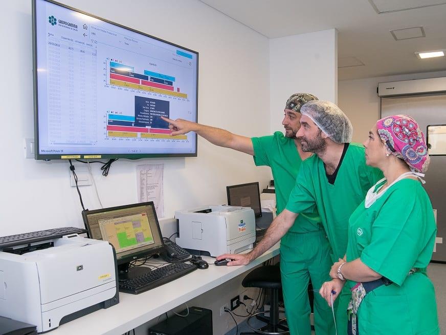 HPR optimiza la gestión en el Área Quirúrgica