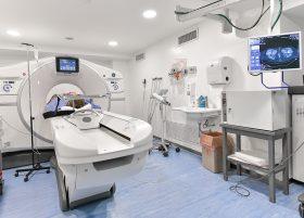 Forage de cadera bajo control tomográfico | Grupo Gamma