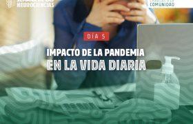 Impacto de la pandemia en la vida diaria. Semana de las Neurociencias. | Grupo Gamma